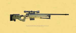 AW.338 gas rifle /scope/bipod Green (WELL G96D)
